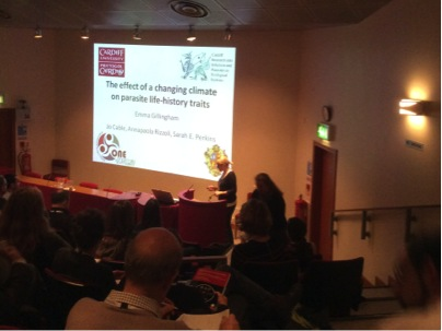CRIPES at the British Society for Parasitology Conference